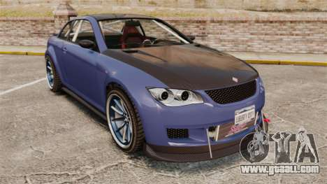 GTA V Sentinel XS Street Tuned Edit for GTA 4