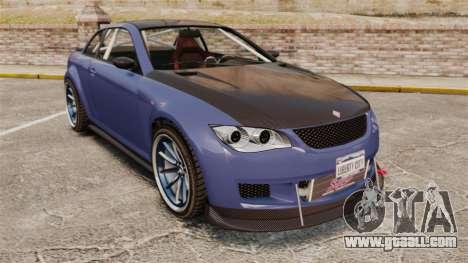 GTA V Sentinel XS Street Tuned Edit for GTA 4