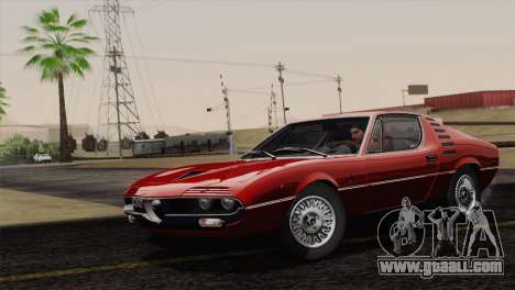 Alfa Romeo Montreal (105) 1970 for GTA San Andreas