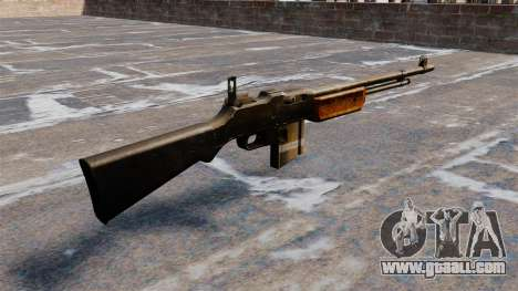 Automatic rifle Browning Bar for GTA 4 second screenshot