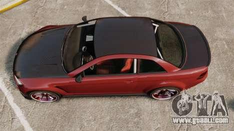 GTA V Sentinel XS Street Tuned Edit for GTA 4 right view
