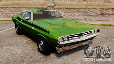 Dodge Challenger 1971 v2 for GTA 4