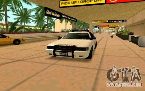 GTA V Sheriff Cruiser for GTA San Andreas back left view