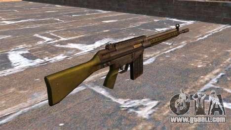 HK G3 automatic rifle for GTA 4 second screenshot