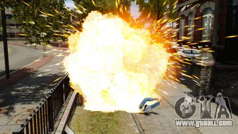Exploding bullets for GTA 4 third screenshot