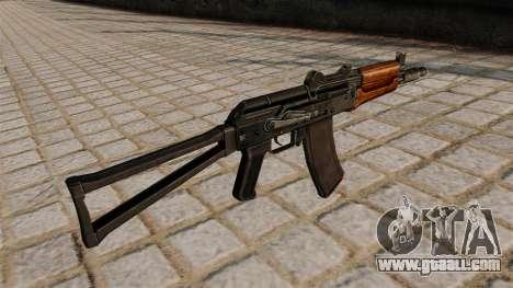 Automatic AKS74U for GTA 4 second screenshot