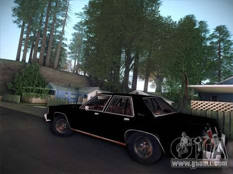 Ford LTD Crown Victoria 1985 for GTA San Andreas right view