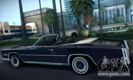 Cadillac Eldorado 1978 Convertible for GTA San Andreas right view