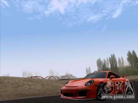 Porsche 911 GT3 2014 for GTA San Andreas