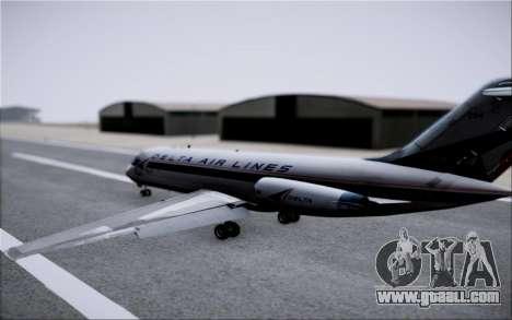 McDonnel Douglas DC-9-10 for GTA San Andreas interior