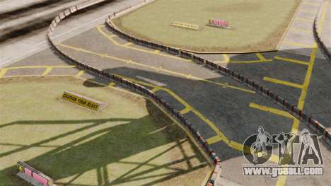 Airport RallyCross Track for GTA 4 second screenshot