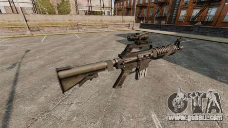 Assault rifle-Colt AR-15 for GTA 4 second screenshot