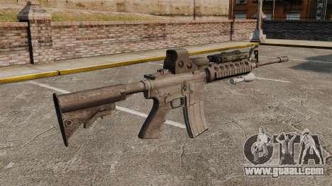 M4 carbine SOPMOD v3 for GTA 4 second screenshot