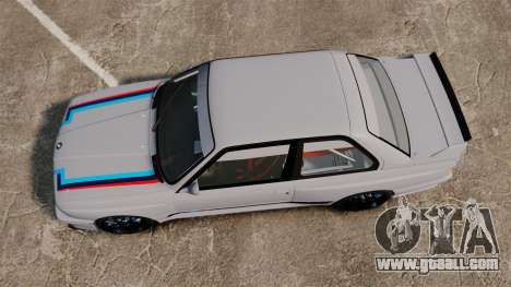 BMW M3 1990 Race version for GTA 4 right view