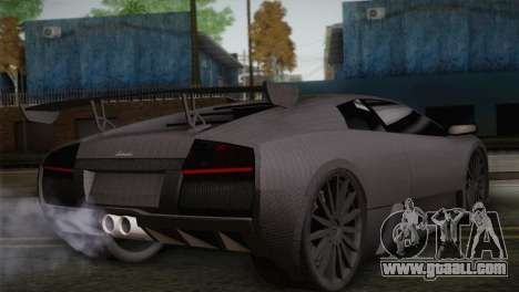 Lamborghini Murcielago GT Carbone for GTA San Andreas left view