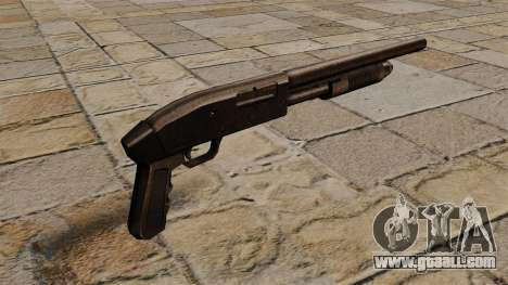 Pump-action shotgun Mossberg 500 for GTA 4 second screenshot