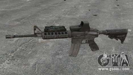 M4 carbine SOPMOD v3 for GTA 4 third screenshot