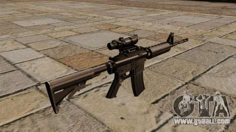 Automatic carbine M4A1 ACOG for GTA 4 second screenshot
