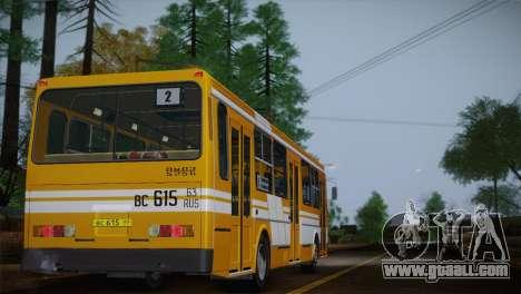 LIAZ 5256.00 for GTA San Andreas wheels