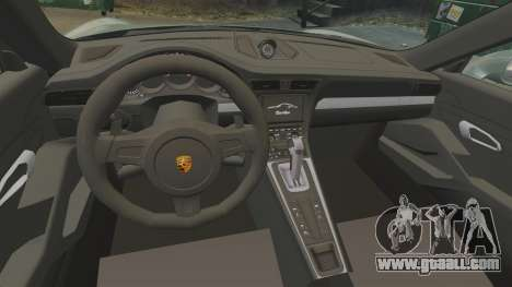 Porsche 911 Turbo 2014 [EPM] Ghosts for GTA 4 inner view