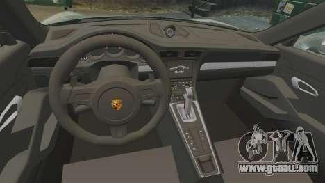 Porsche 911 Turbo 2014 [EPM] Ghosts for GTA 4 inner view