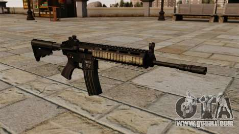 Automatic HK416 for GTA 4