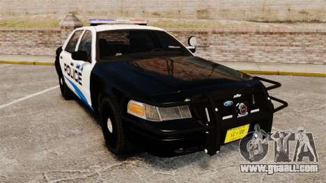 Ford Crown Victoria Police Interceptor [ELS] for GTA 4