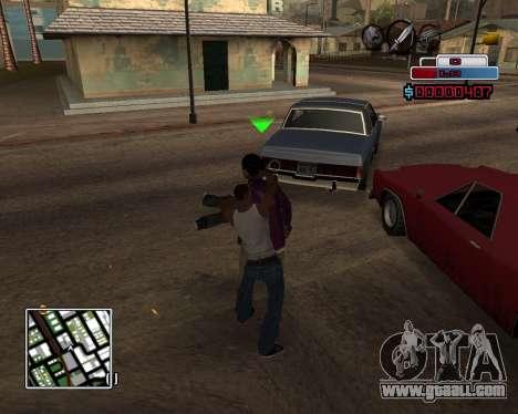 C-HUD by Braun for GTA San Andreas third screenshot