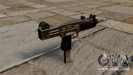Uzi submachine gun for GTA 4 second screenshot