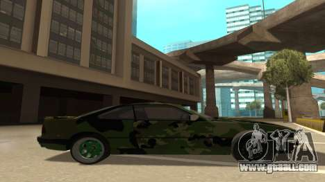 BMW 850CSi 1996 Military Version for GTA San Andreas back left view