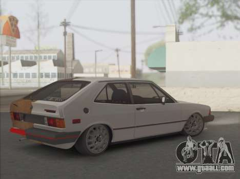VW Scirocco S (Half) for GTA San Andreas back left view