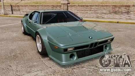 BMW M1 [EPM] for GTA 4