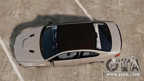 BMW M3 E92 2008 for GTA 4 right view