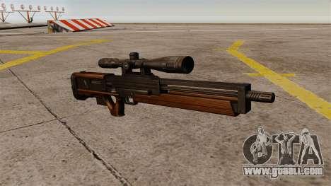 The Walther WA 2000 sniper rifle for GTA 4