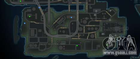 CG4 Radar Map v1.1 for GTA 4 second screenshot