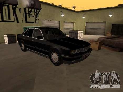 BMW 520i e34 for GTA San Andreas