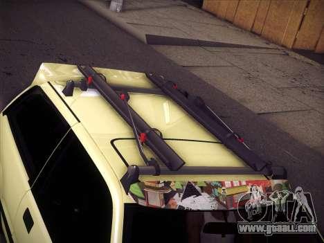 Honda Civic Si 1986 for GTA San Andreas bottom view