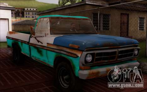 Ford F-150 Old Crate Edition for GTA San Andreas back left view