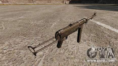 MP 40 submachine gun for GTA 4 second screenshot