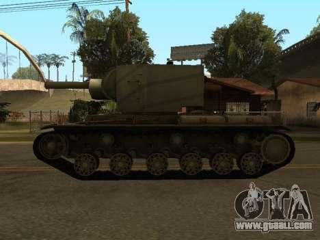 KV-2 for GTA San Andreas right view