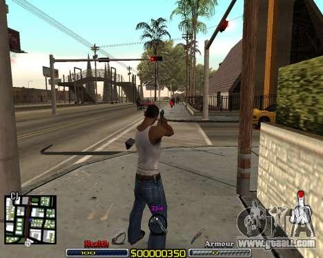 C-HUD by qrt for GTA San Andreas third screenshot