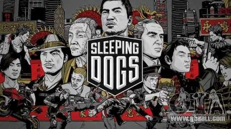 Boot screen Sleeping Dogs for GTA 4