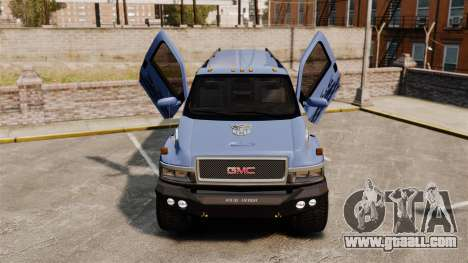 GMC Tough Guy for GTA 4 inner view