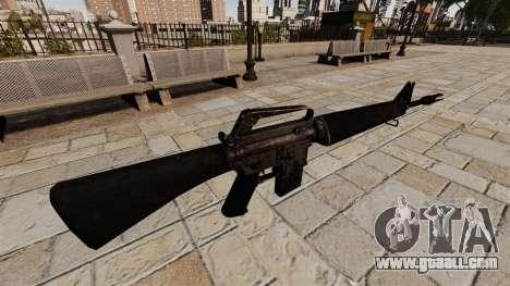Assault rifle M16A4 Vietnam for GTA 4 second screenshot