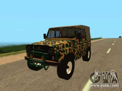 UAZ 469 Camo for GTA San Andreas