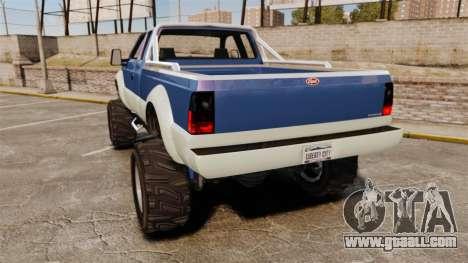 GTA V Vapid Sandking SWB 4500 for GTA 4 back left view