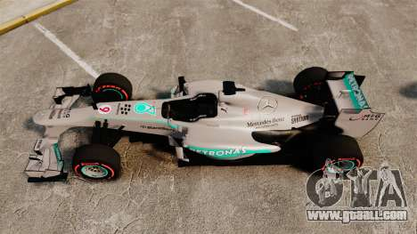 Mercedes AMG F1 W04 v6 for GTA 4 right view