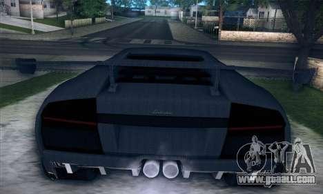 Lamborghini Murcielago GT Carbone for GTA San Andreas side view
