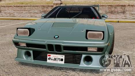 BMW M1 [EPM] for GTA 4 interior
