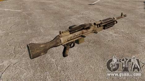 General-purpose machine gun M240B for GTA 4 second screenshot